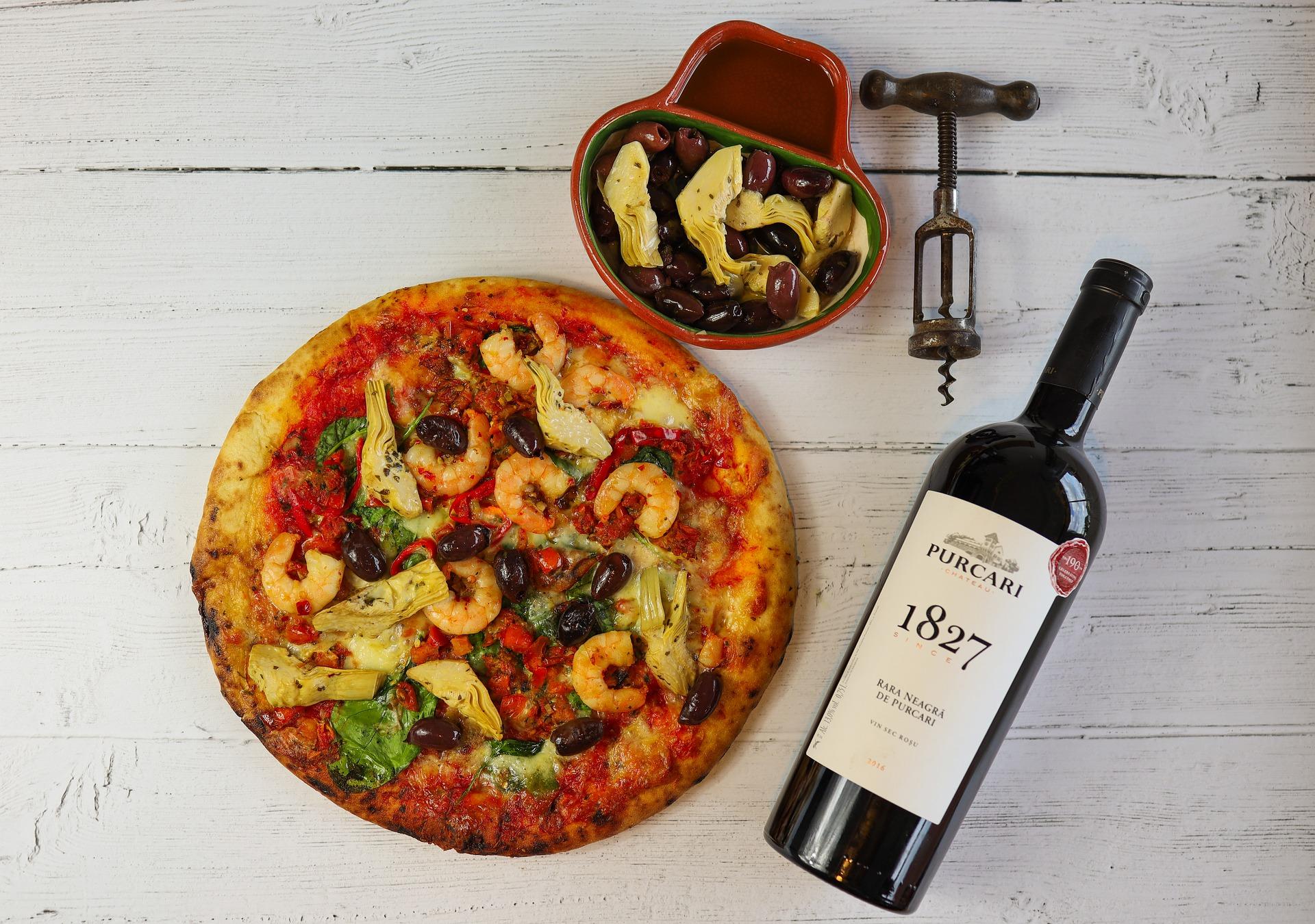 accord vin et pizza