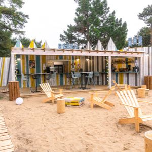 Camping sur plage