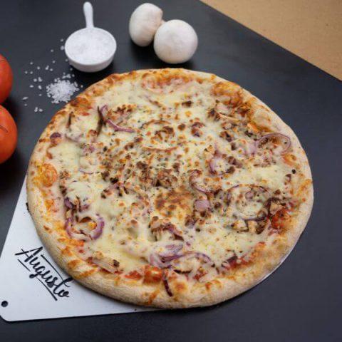 Pizza all pollo