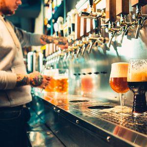 Service de bières